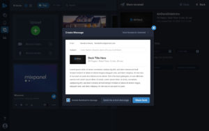 AirDeck email sharing
